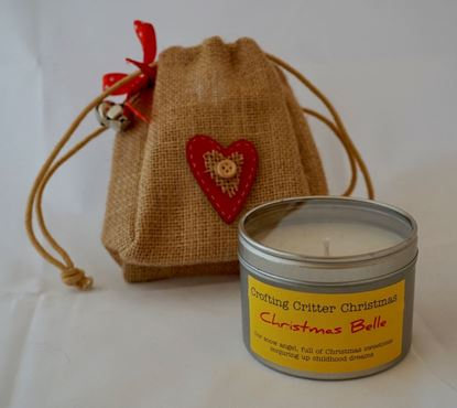Christmas Belle Candle Christmas Bag